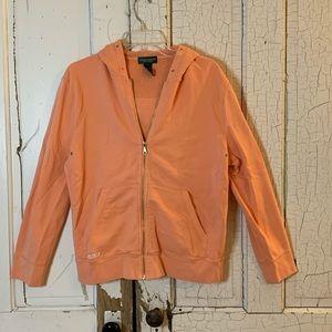 Ralph Lauren cotton zip up hoodie Size Large
